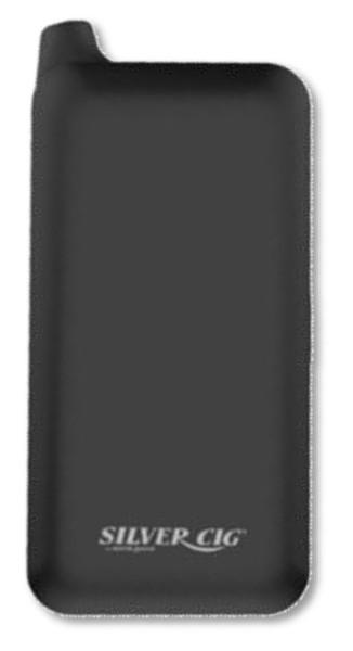 SILVER CIG E-SQUARE BLACK