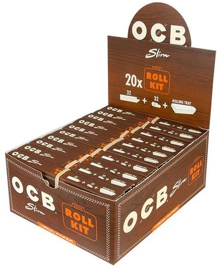 OCB UNBLEACHED ROLL KIT