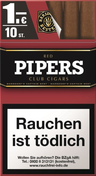 PIPERS RED