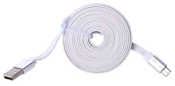 TEKMEE Micro USB Kabel weiß