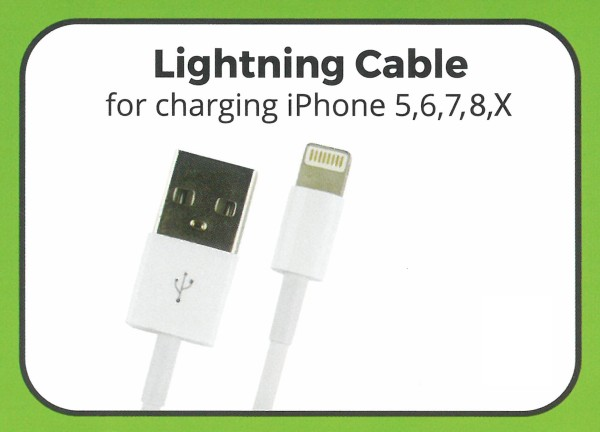 TEKMEE LIGHTNING LADEKABEL
