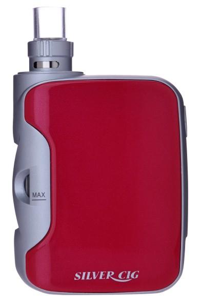 SILVER CIG E-BOT RED