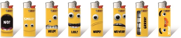 MINI-BIC Motiv YELLOW MOUTH