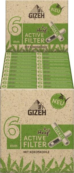 GIZEH HANF ACTIVE SLIM FILTE