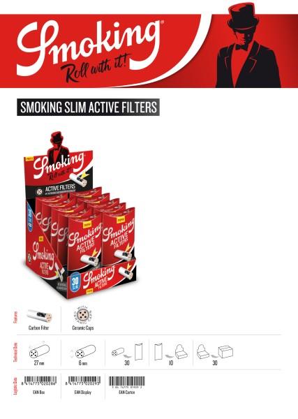 SMOKING ACTIVE SLIM FILTER