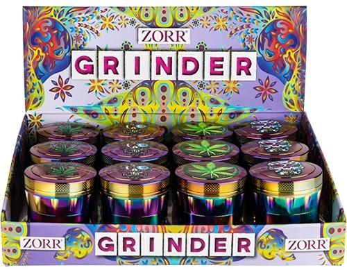 ZORR GRINDER ca.4,3cn 4-tlg.