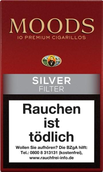 MOODS SILVER - FILTER (10er)