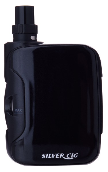SILVER CIG E-BOT BLACK