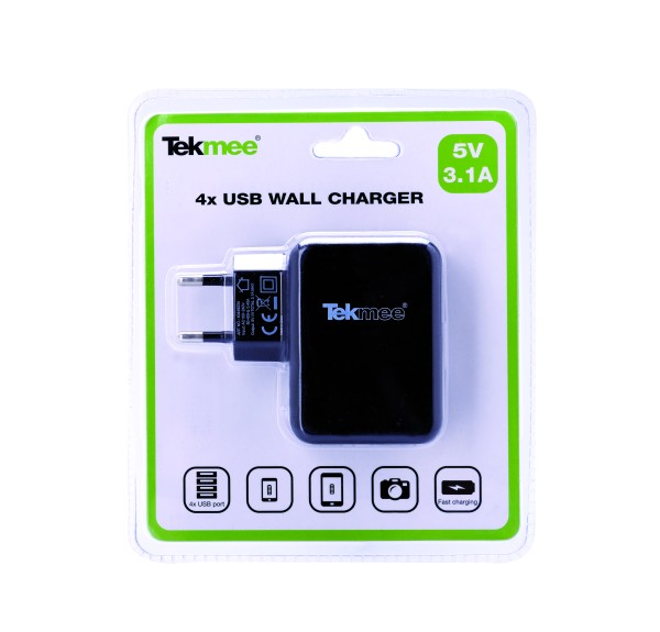 TEKMEE USB Multi-Netzstecker