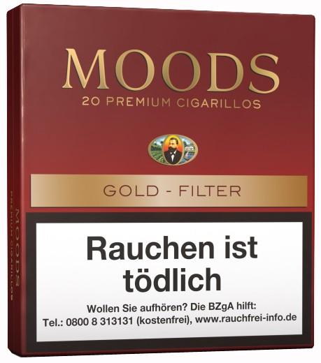 MOODS 20ER, GOLD FILTER