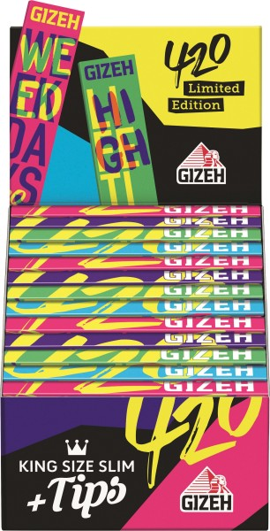 GIZEH 420 KING SIZE + TIPS