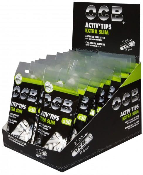 OCB ACTIV TIPS SLIM - 6mm