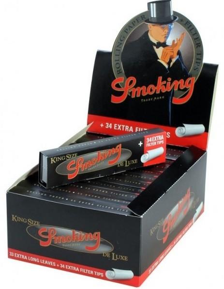 SMOKING DE LUXE + FILTER TIP