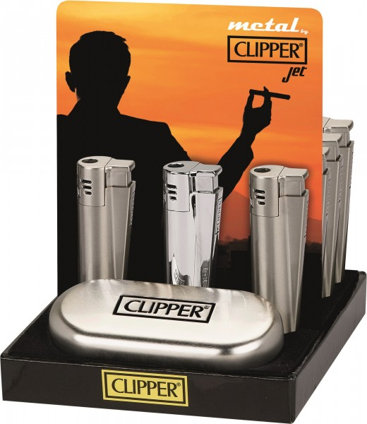 CLIPPER-FZG. JET-FLAME SILVE