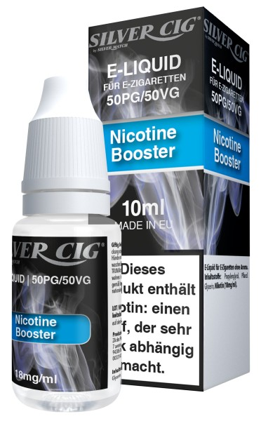 SILVER CIG NICOTINE BOOSTER