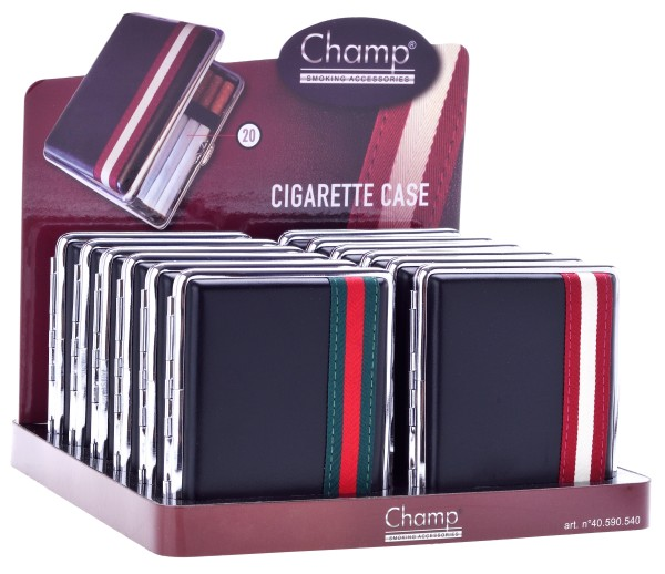 ZIG.-ETUI CHAMP BLACK STRIPE