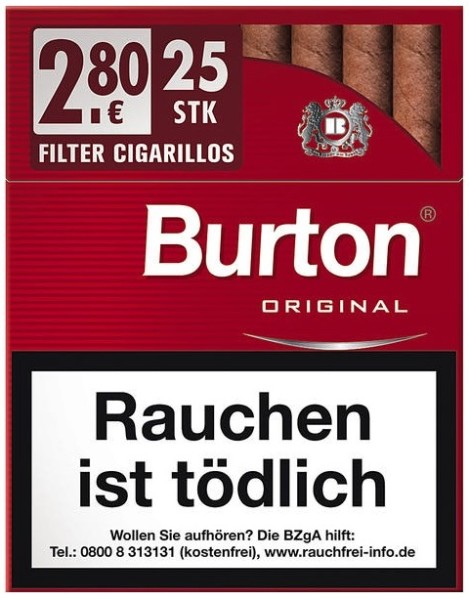 BURTON ECO CIGARILLO XL-ORIG