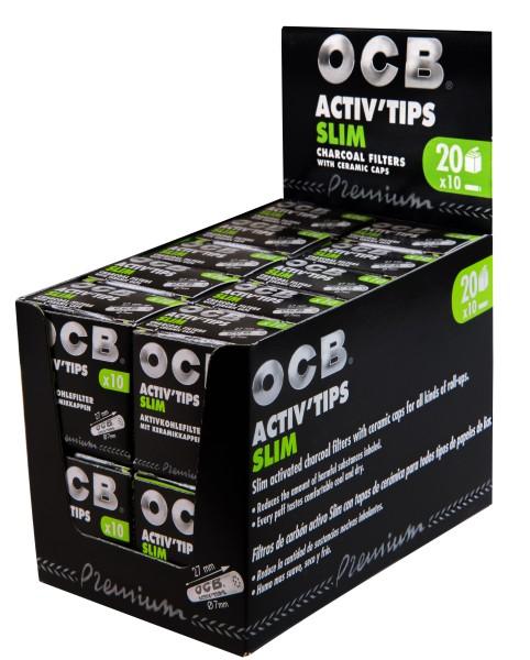 OCB ACTIV TIPS SLIM - 7mm