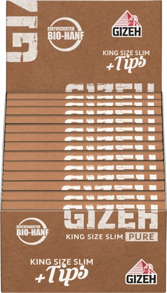 GIZEH PURE KING SIZE + TIPS