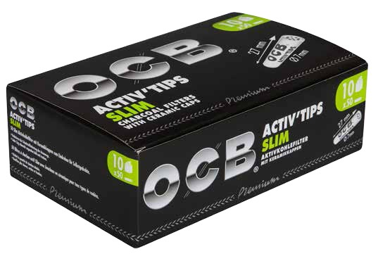 OCB ACTIV TIPS SLIM - 7mm