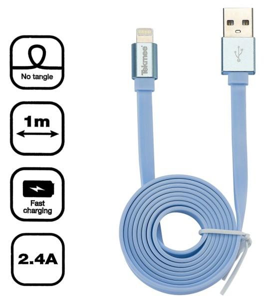 TEKMEE USB Kabel blau