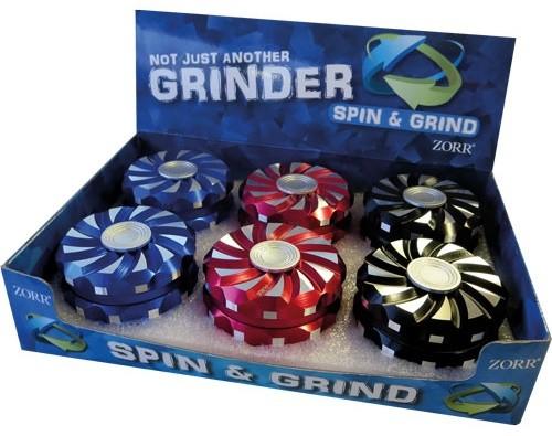 LUX GRINDER SPINNER, D. 6,3