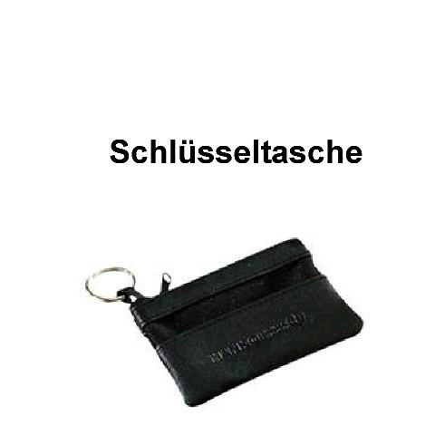 Schlüsseltasche aus schwarze