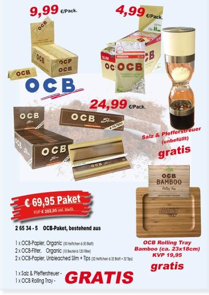 OCB-PAKET bestehend aus: