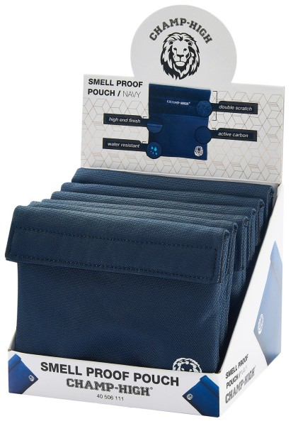 SMELLPROOF TOBACCO POUCH BLA