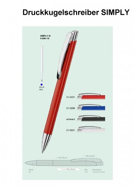 Druckkugelschreiber SIMPLY