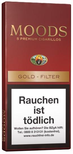 MOODS 5ER, GOLD FILTER