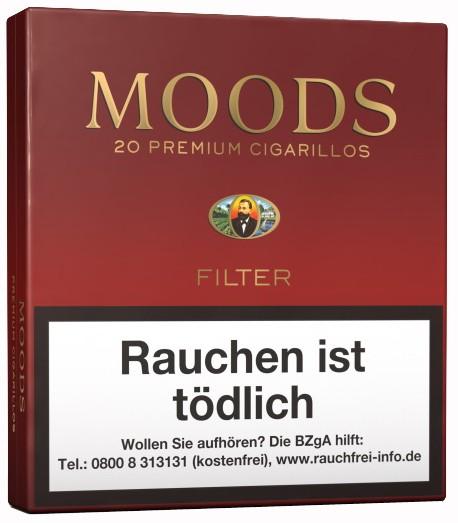MOODS 20ER, FILTER