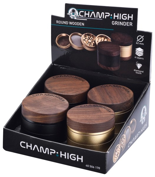 CHAMP HIGH GRINDER WOODEN