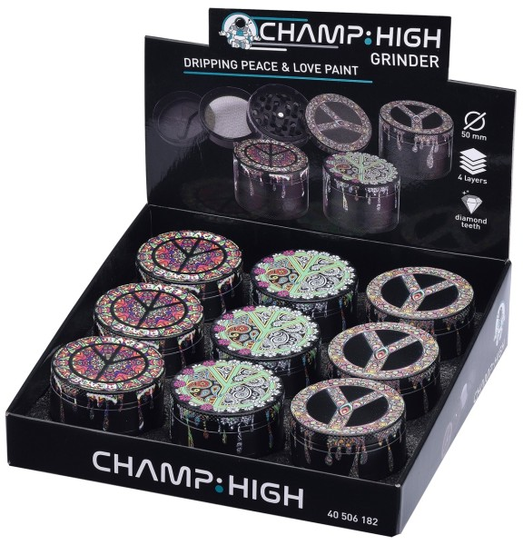 CHAMP HIGH GRINDER PEACE & L