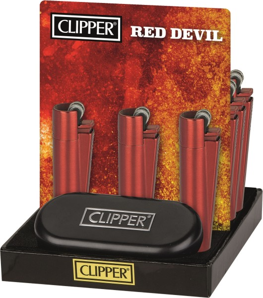 CLIPPER-FZG.METALL RED DEVIL