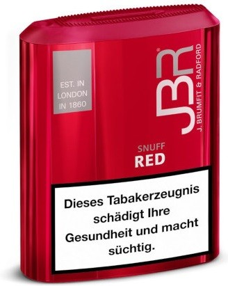 JBR RED SNUFF, 10g