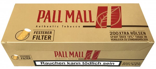 HÜLSEN PALL MALL AUTHE. RED