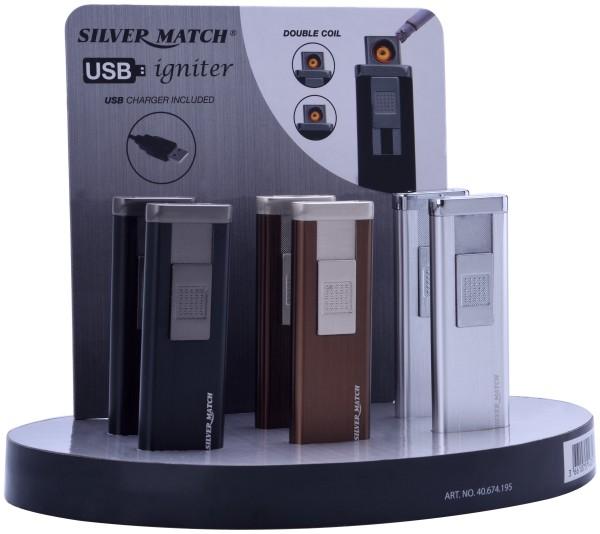 USB-FZG. SILVER MATCH PINNER